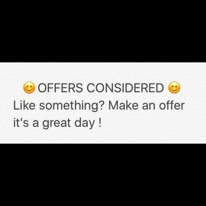 Other - Offers will be considered